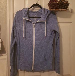 So zip up hoodie
